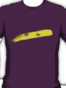 The Eyes Of Dale Bozzio (Yellow) T-Shirt