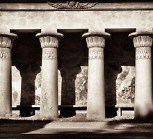 Egyptian lotus columns by debrapeck