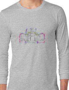 F1 Car Long Sleeve T-Shirt