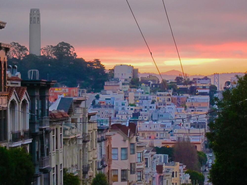 Telegraph Hill and Beyond by David Denny