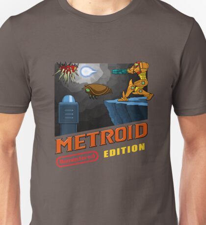 Metroid Remastered (Cover Art) Unisex T-Shirt
