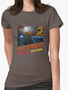 Metroid Remastered (Cover Art) Womens Fitted T-Shirt