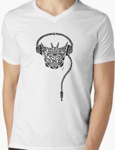 Decepticon Dj Tribal Mens V-Neck T-Shirt