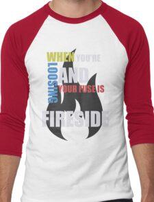 Fireside Men's Baseball ¾ T-Shirt