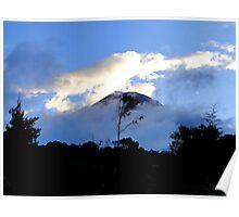 Quiet Tungurahua Volcano In Ecuador Poster