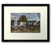 Traditional Fisherman's Cottage  Framed Print