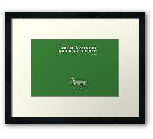 Game of Thrones - House Stokeworth - Bronn Framed Print