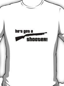 Alan Partridge - He's got a shooter! T-Shirt