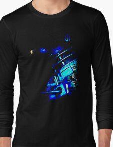 Dalek Beta – Blue Long Sleeve T-Shirt