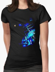 Dalek Beta – Blue Womens Fitted T-Shirt