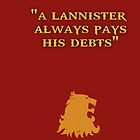 Game of Thrones - House Lannister by Wiggamortis