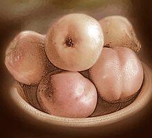 Fruit in Sepia by Ginny Schmidt