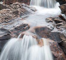 Rannoch Waterfall by Linda  Morrison