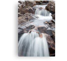 Rannoch Waterfall Canvas Print