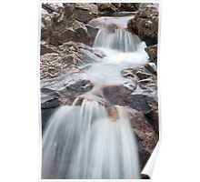 Rannoch Waterfall Poster