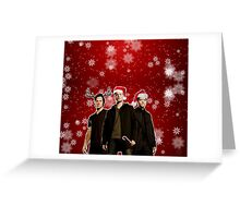 A Supernatural Christmas Greeting Card