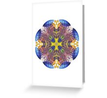 chihuly 2 Greeting Card
