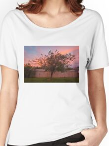 Tree Sunset in Poatina Women's Relaxed Fit T-Shirt