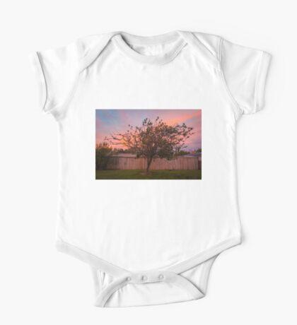 Tree Sunset in Poatina One Piece - Short Sleeve