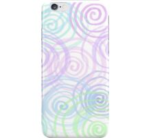 Cool Colour Spirals iPhone Case/Skin
