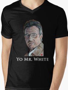 Yo Mr. White Mens V-Neck T-Shirt