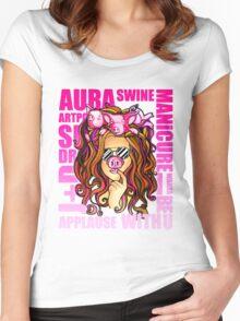 SWINEFEST Women's Fitted Scoop T-Shirt