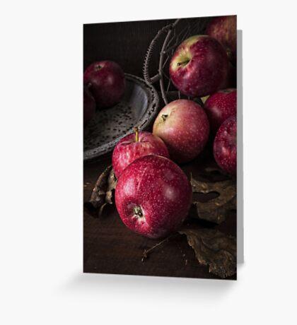 Apple Still Life Greeting Card