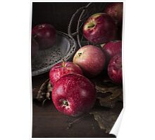 Apple Still Life Poster