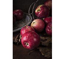 Apple Still Life Photographic Print