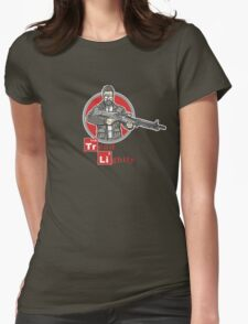 Tread Lightly Womens Fitted T-Shirt