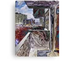 Abstract Urban Structure Canvas Print