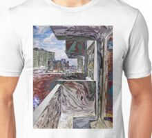 Abstract Urban Structure Unisex T-Shirt