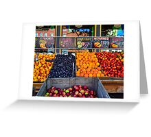 Street of Color Greeting Card