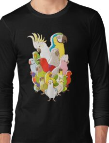 Parrot Party Long Sleeve T-Shirt