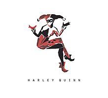 Harley Quinn Minimalist Poster Photographic Print