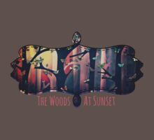 The Woods at Sunset Kids Clothes