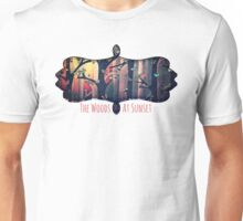 The Woods at Sunset Unisex T-Shirt