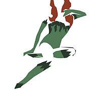 Poison Ivy Minimalist Poster by hispurplegloves