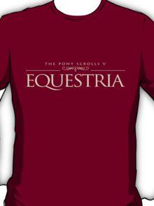 TES: Equestria (MLP/Skyrim) T-Shirt