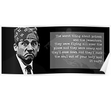 The Office - Prison Mike Poster