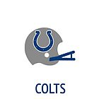 Indianapolis Colts NFL Helmet iPhone Case by aschwall33