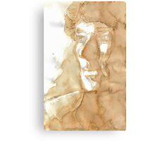 A Study in Coffee Metal Print