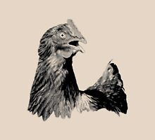 Rooster Digital Engraving. Farm Animal Images and Prints. Unisex T-Shirt