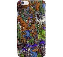 Chibi Dinosaurs iPhone Case/Skin
