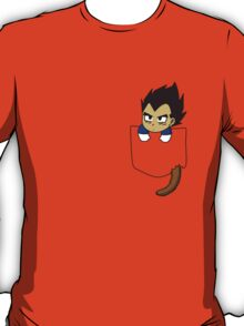 Chibi Vegeta in shirt pocket T-Shirt