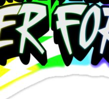 "GTA V: Kung Fu Rainbow LazerForce ""Rainbow"" version  Sticker"