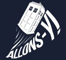 """""""Allons-y !"""" - The Doctor (White Edition) by Mesmaeker"""
