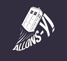 """Allons-y !"" - The Doctor (White Edition) Mens V-Neck T-Shirt"