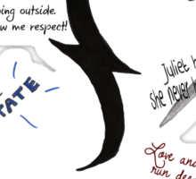 Vampire Academy Quotes Sticker