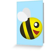 Cute Small Bee Greeting Card